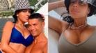 Georgina e Ronaldo, le vacanze in barca tra mare e relax