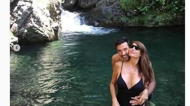 Buffon, relax con i figli e la D'Amico: