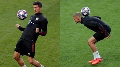 Bayern, la rifinitura pre Barcellona: Lewandowski e compagni fanno i giocolieri
