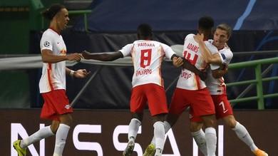 Lipsia-Atletico Madrid 2-1: Simeone eliminato. Nagelsmann in semifinale di Champions