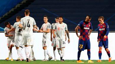 Il Bayern Monaco umilia il Barcellona e vola in semifinale: termina 8-2