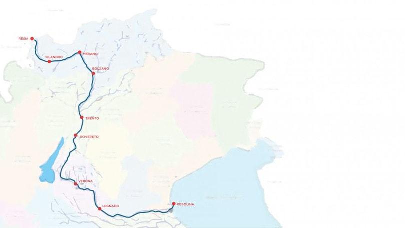 Una gara per tutti la staffetta lungo l'Adige Resia Rosolina Relay