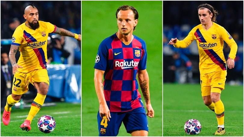 Vidal, Rakitic, Firpo, Griezmann: Barcellona, tutti sul mercato!