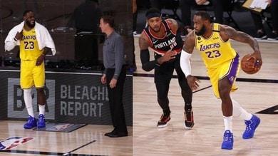 Nba, 34 punti per Lillard: LeBron sconfitto da Portland