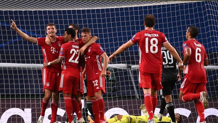Lione-Bayern Monaco 0-3: Gnabry-Lewandowski show, è finale con il Psg!