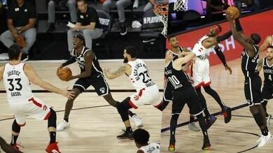 Nba: Powell e Van Vleet trascinano Toronto contro i Nets