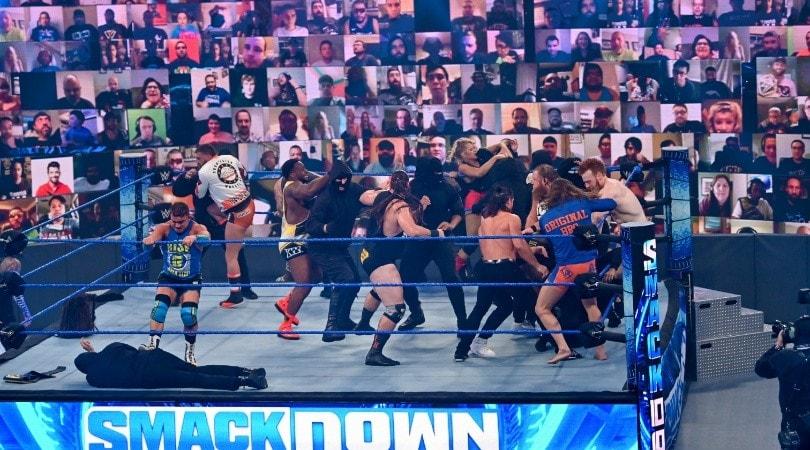 """Ecco ThunderDome! E il pubblico """"torna"""" sugli spalti WWE"""