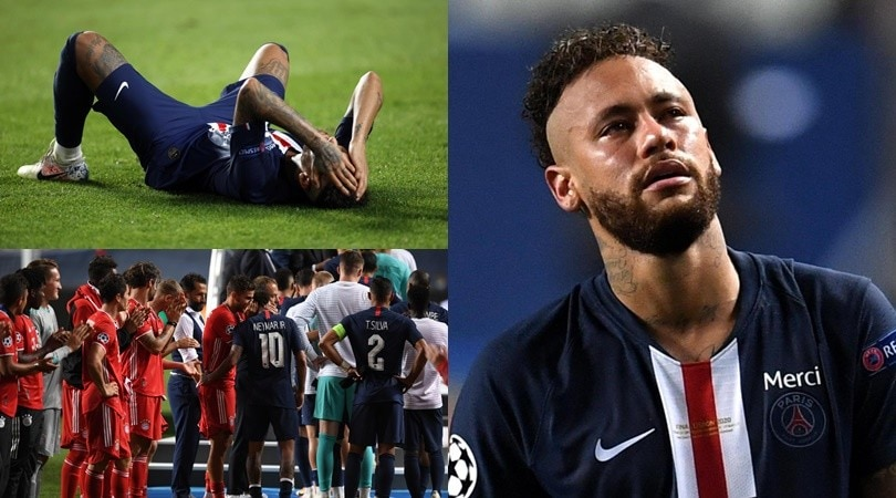 Psg ko col Bayern, Neymar è inconsolabile