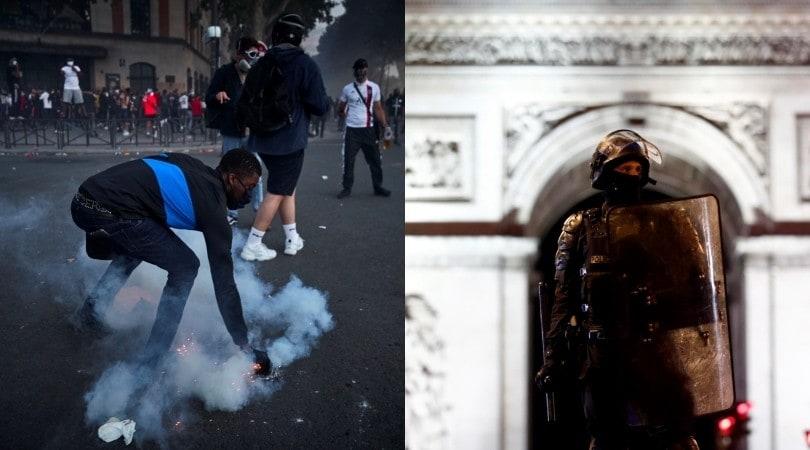 Psg battuto dal Bayern: incidenti a Parigi tra ultras e polizia