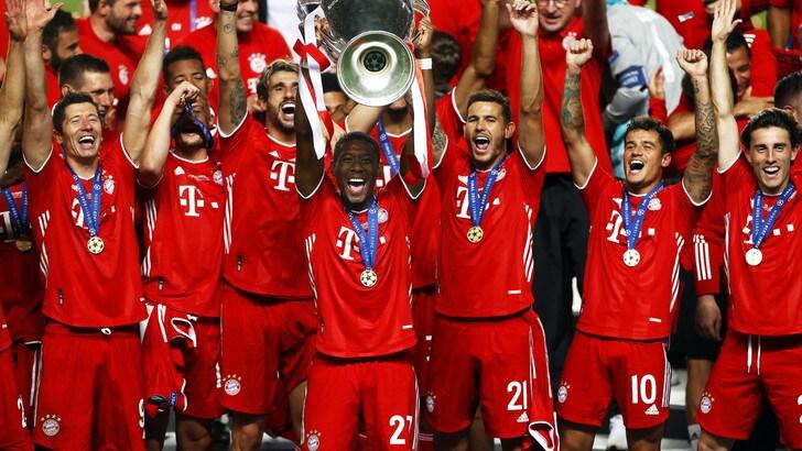 Ribery in festa per gli ex compagni: