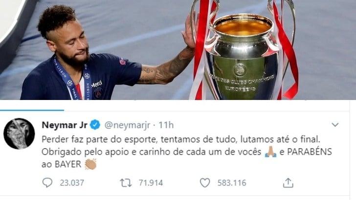Neymar, gaffe su Twitter: sbaglia a scrivere Bayern e il Leverkusen ringrazia
