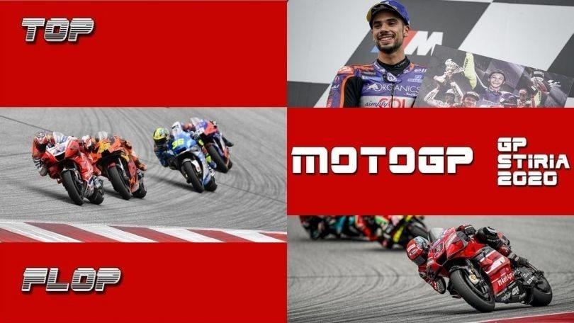 Top e Flop MotoGP: GP Stiria VIDEO