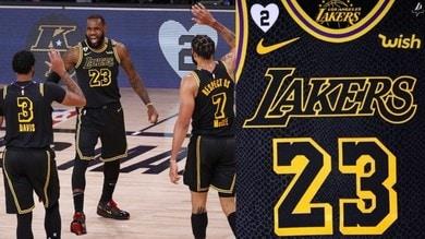 Nba, per i Lakers omaggio a Kobe e vittoria sui Blazers