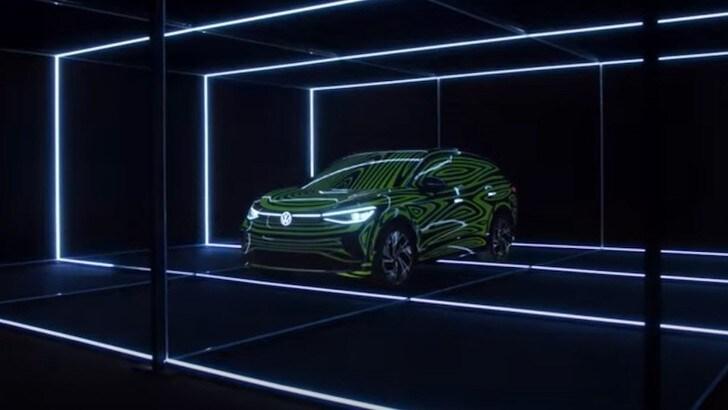 Volkswagen ID.4, iniziata la produzione del SUV elettrico