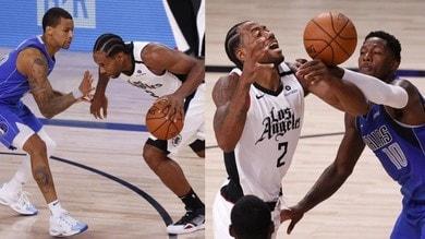 Nba, Clippers on fire: Leonard&co. travolgono i Mavericks