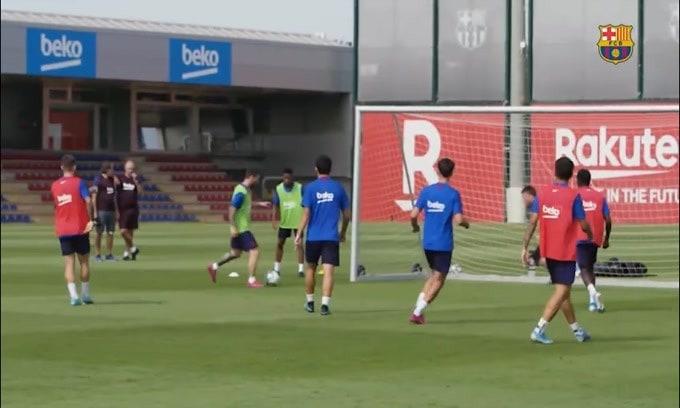 Colpo di scena al Barca: lunedì si allenerà Messi
