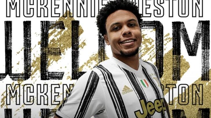 """Juve, McKennie ufficiale: """"E' un sogno che diventa realtà"""" - Tuttosport"""
