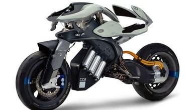 Yamaha, il progetto del futuro: la moto che non cade
