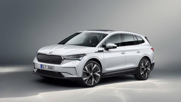Nuova Skoda Enyaq IV, il primo SUV elettrico viene dal futuro