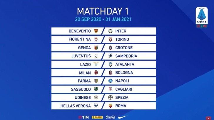 Calendario Serie A 2020 2021 Juve Sampdoria Alla Prima Giornata Tuttosport