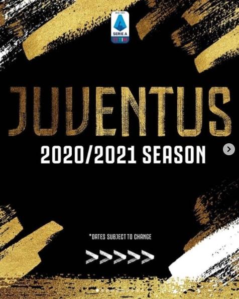 Juve, ecco il calendario dellaSerie A 2020-2021