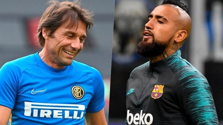 Inter, tra Conte e Vidal lieto fine sempre più vicino