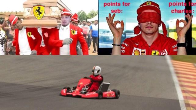 Ferrari da incubo a Monza: le reazioni social