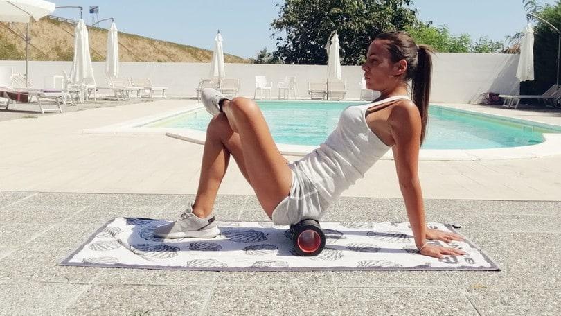 Foam Roller, il 'rullo ' che massaggia, come usarlo correttamente?
