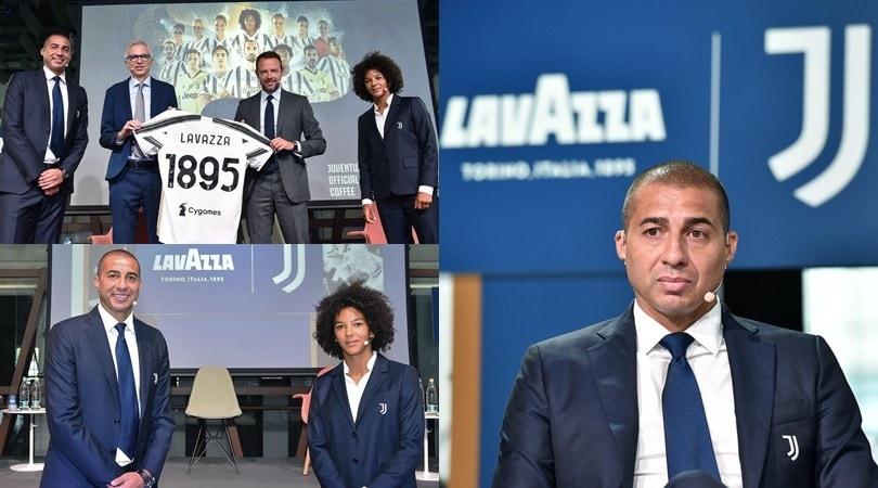 Juve, Trezeguet e Sara Gama testimonial dell'evento speciale