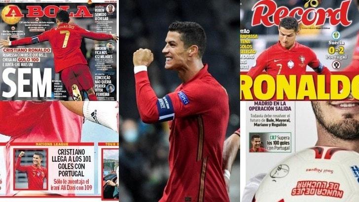 Cristiano Ronaldo, il Portogallo (e non solo) celebra il suo fenomeno