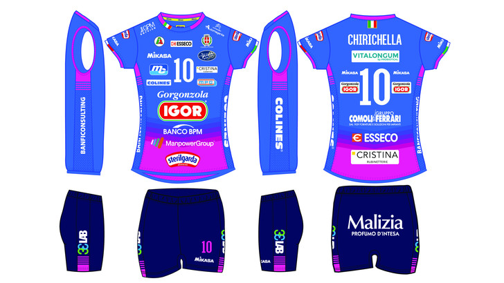 Igor Volley: svelata la nuova maglia da gioco