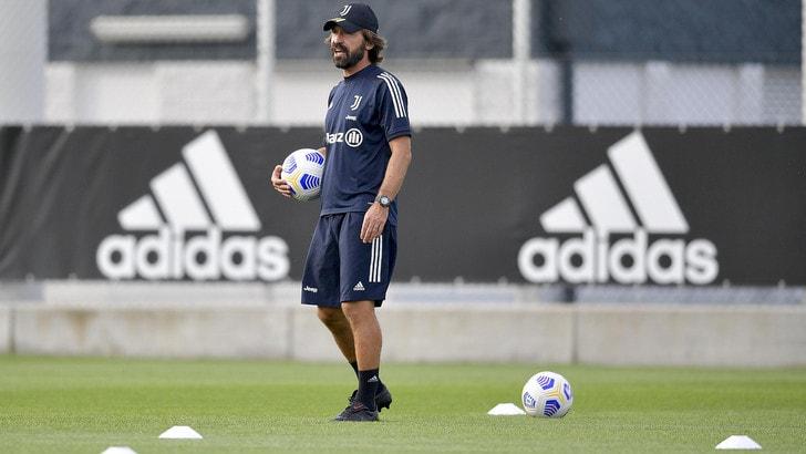 Juve, seduta di allenamento in vista della Sampdoria