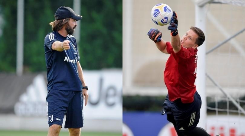 Juve: Buffon e Szczesny, che voli sotto gli occhi di Pirlo!