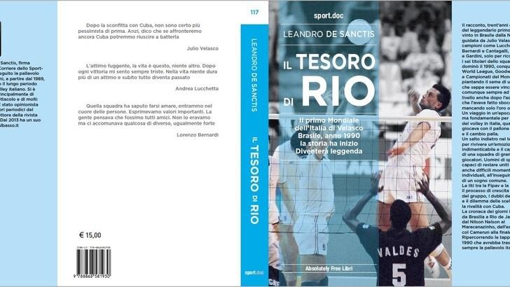 Il tesoro di Rio: l'Italia del '90 raccontata in un libro