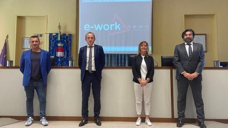 E-work arena è il nuovo nome del Palazzetto di Busto
