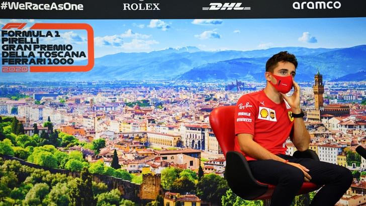 GP Toscana, Leclerc: