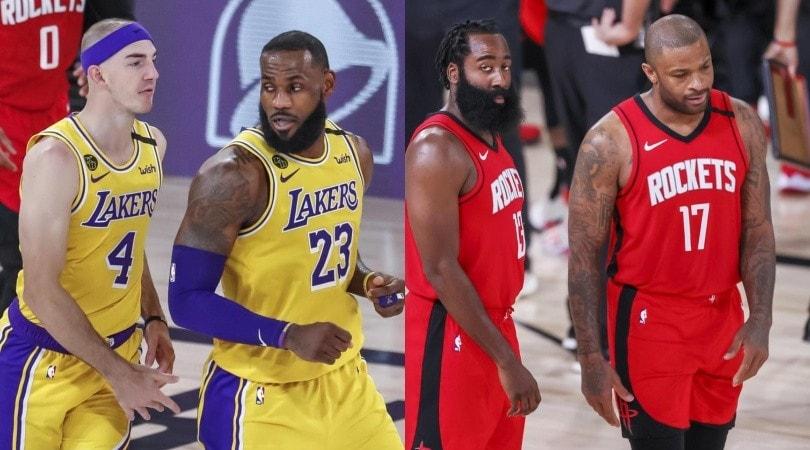 Nba, Lakers battono Rockets in gara-4 e si portano sul 3-1