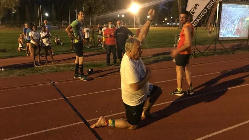 """Grande successo per la maratona a staffetta """"Ricordando Bikila"""""""