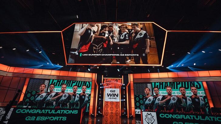 LEC Playoff: i G2 Esports sono i campioni del summer split