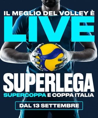 Il grande volley su Eleven Sports