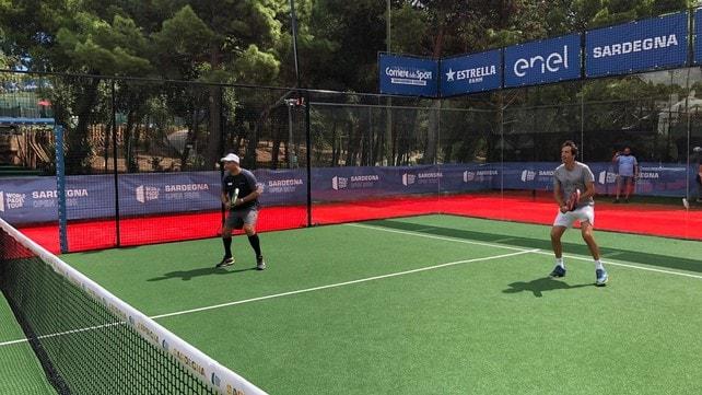Sardegna Open 2020, Albertini e Casiraghi in campo