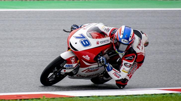 Gp San Marino: Ogura centra la pole in Moto3, Migno quarto