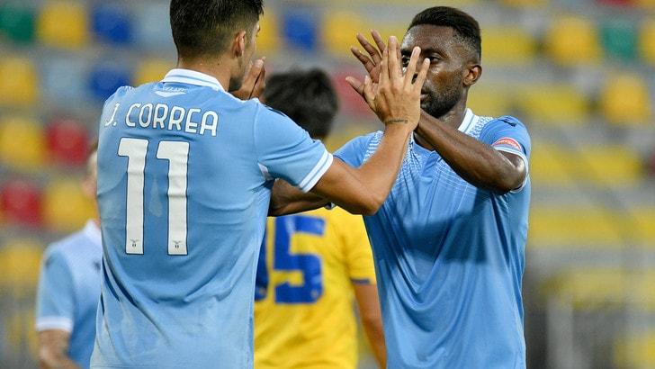 Correa gol e la Lazio va: 1-0 al Frosinone