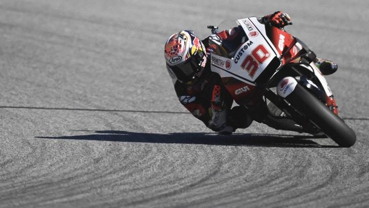 Gp San Marino: Nakagami vola nel warm up, Valentino Rossi 14°