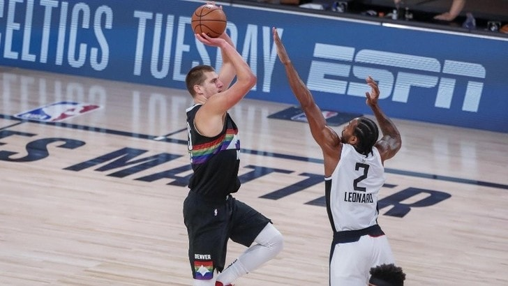 Nba, Nuggets battono Clippers in gara-6: serie sul 3-3