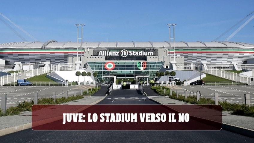 Juve: lo Stadium verso il no