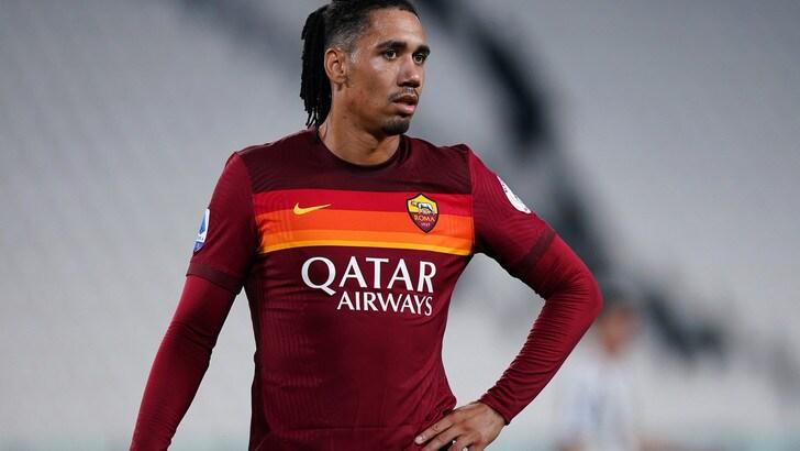 Roma, per Smalling è braccio di ferro col Manchester United