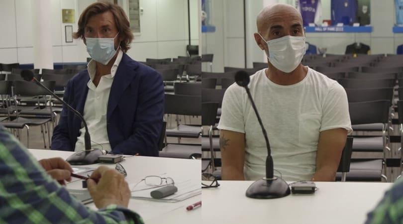 Juventus: Pirlo e Montero all'esame di Coverciano. Promossi