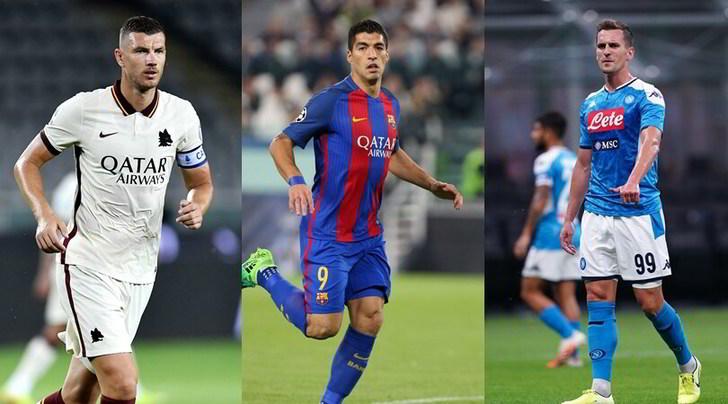 Juve: Dzeko e Suarez, la situazione. E spunta l'esterno