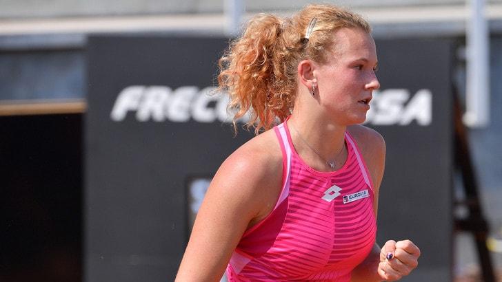 Internazionali d'Italia: Siniakova supera Kerber, avanti Rublev